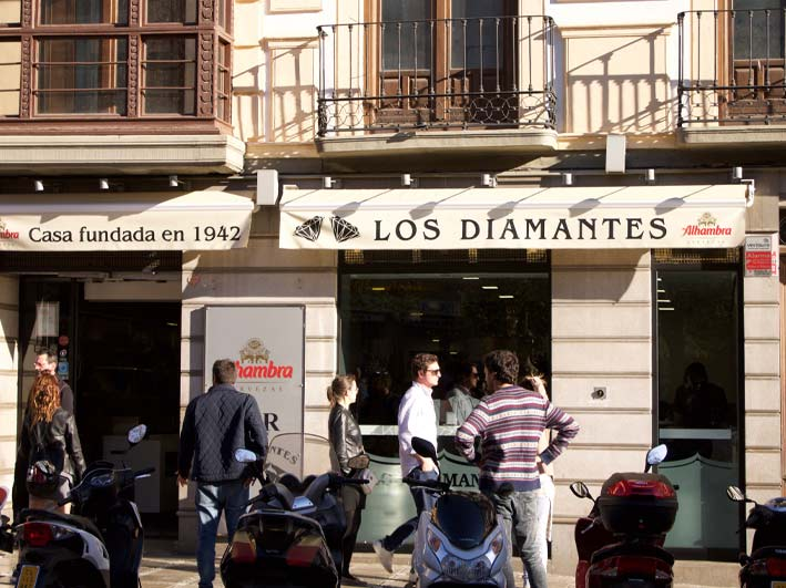 Bar Los Diamantes Granada