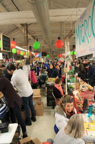 The hustle and bustle of the Merry Maker Night Market