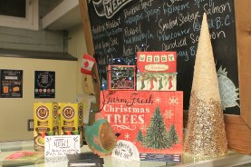 Festive decorations from Taste of Craft and the Merry Maker Night Market