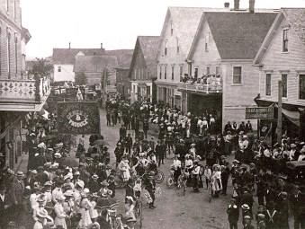Visit Hartland - Bridge celebration 1901