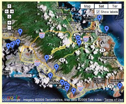 Top Hawaii Tourist Attractions Map Visit Hawaii