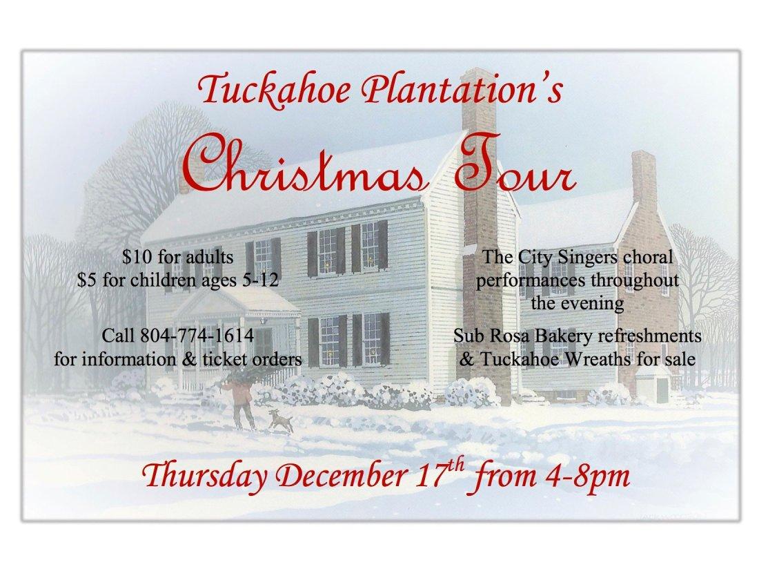 Tuckahoe Christmas Tour