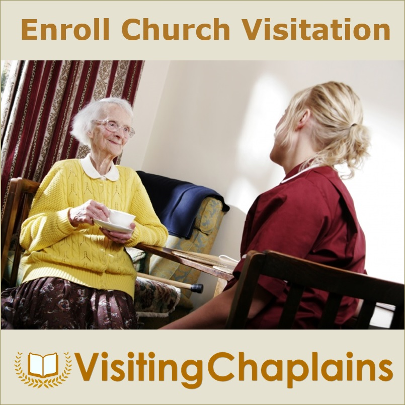 Enroll your Church in Visiting Chaplains for the Homebound
