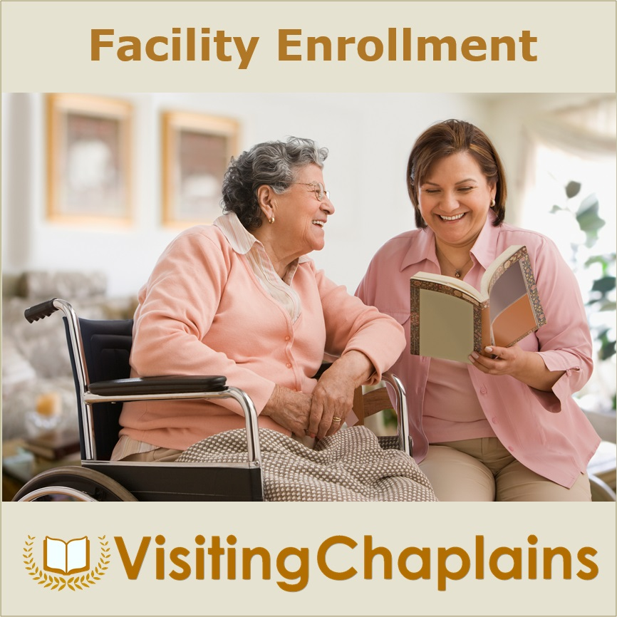 Enroll your Facility with Visiting Chaplains
