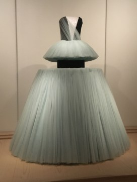 VIKTOR & ROLFE - Spring/Summer Collection, 2010. The first dress on display once you enter the gallery space.