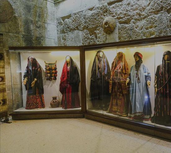 Beautiful Mosaic From The Jordan Folklore Museum In Amman Setting