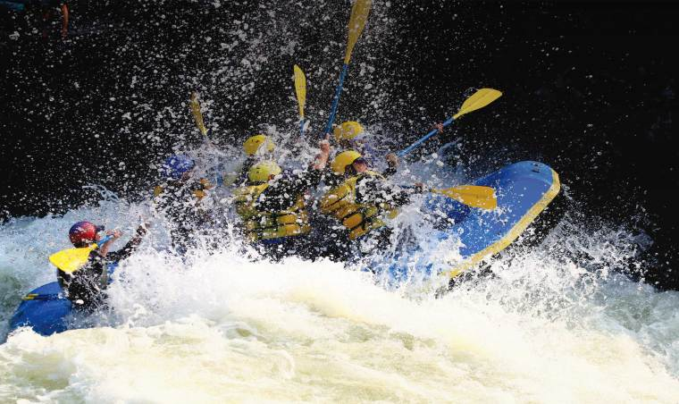 Whitewater Rafting on the Kennebec and Dead Rivers