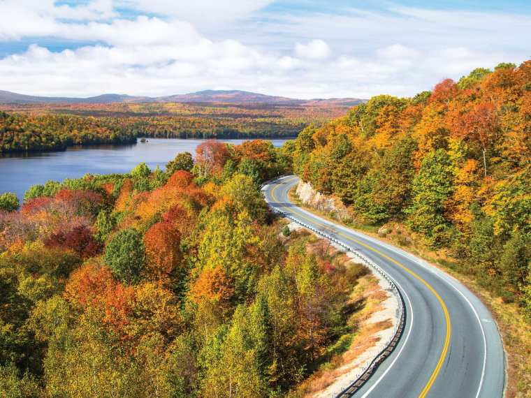 Drive the Old Canada Road Scenic Byway in Maine's Kennebec Valley