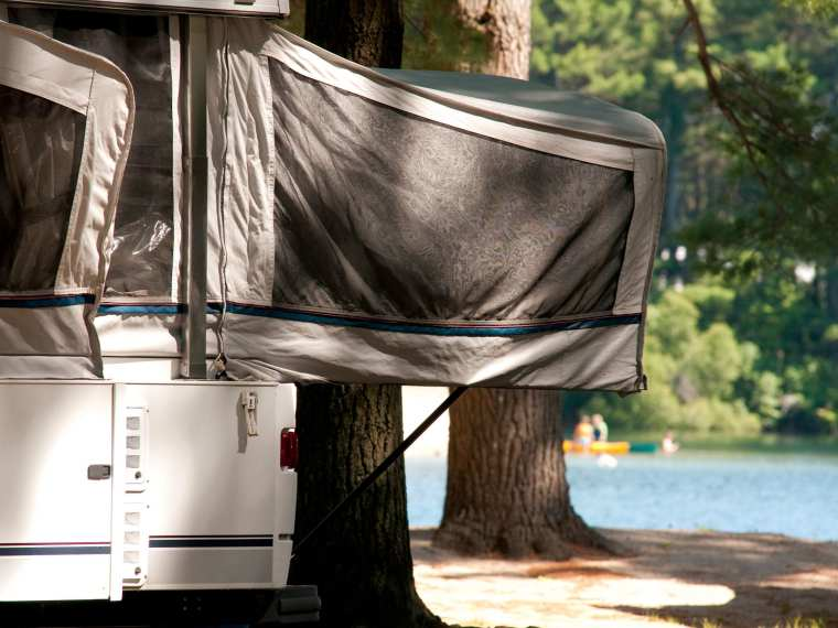 Camping  RV or Trailer