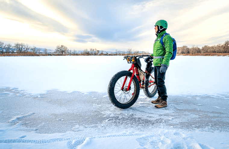 Fat Biking in Maine's Kennebec Valley