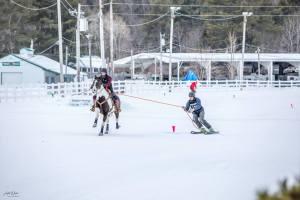 Skijoring at Somerset Snow Fest
