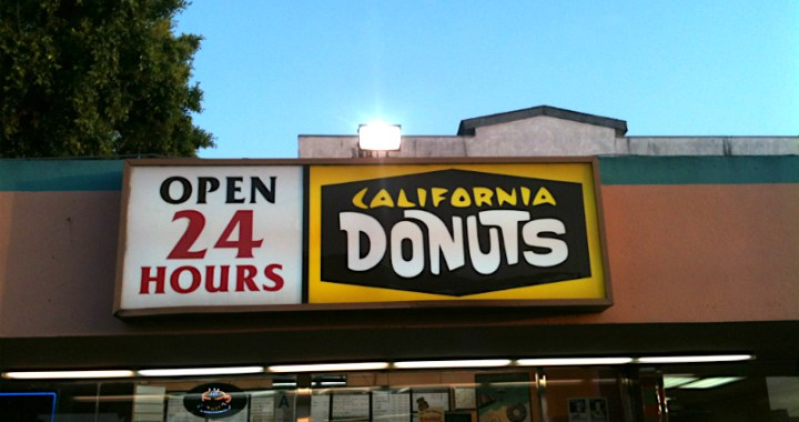 California Donuts: Open 24 Hours