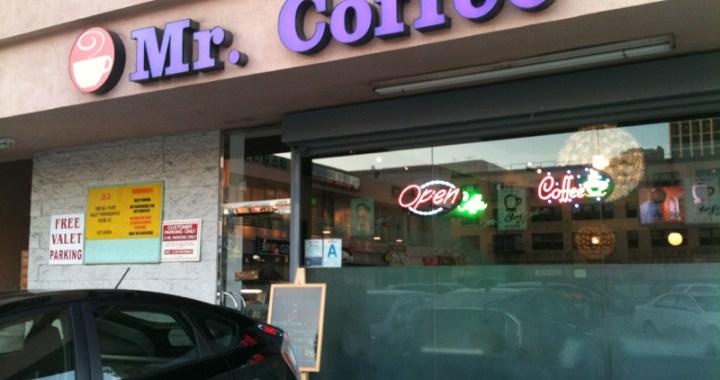 Mr. Coffee on Western Avenue