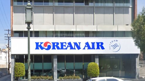 Korean Air office in LA
