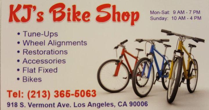 Bike Shop in Koreatown LA