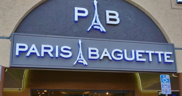 Paris Baguette Korean Bakery in LA