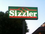 Sizzler Restaurant on Western