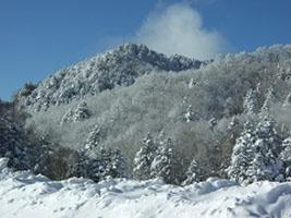 中倉山《積雪期》