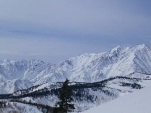 白馬乗鞍岳《厳冬期》