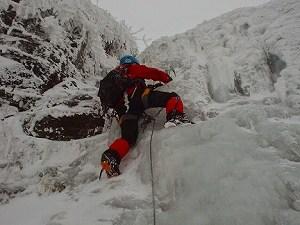 八ヶ岳 裏同心ルンゼ アイスクライミング《冬期》