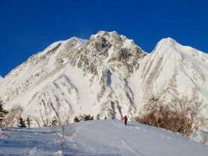 五竜岳 《厳冬期》