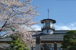 2016/04/05 14:40頃 旧山辺学校