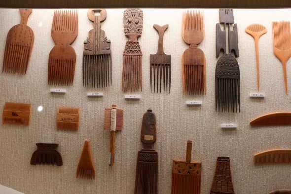 Combs from around the world