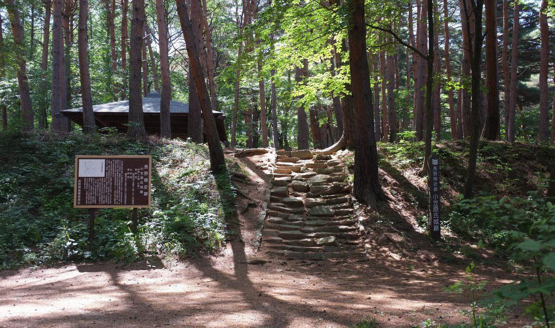 Hayashi Castle Ruins Hike in Iriyamabe