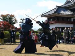 A kendo match in progress!