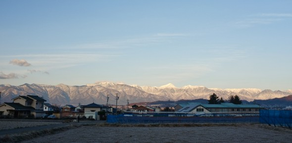 The Japan Alps Turn White With Snow