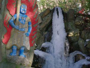 護摩堂 不動の滝