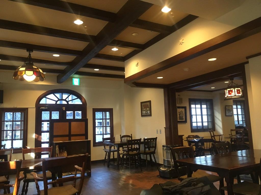 松本ホテル花月 喫茶室八十六温館