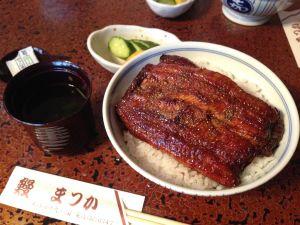 滿津嘉(Matsuka)鰻魚飯