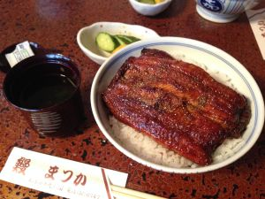 Matsuka: The best unagi in Matsumoto?