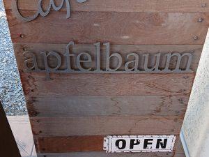 カフェ アプフェルバウム