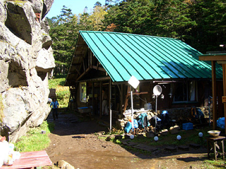 Yakedake Mountain Hut