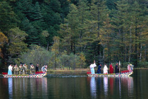 Myojin Pond Float Festival