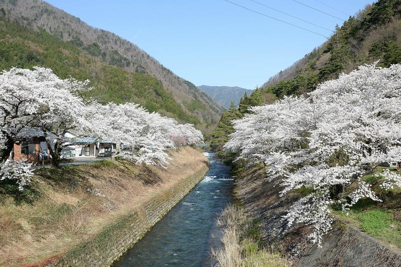 島々谷(徳本峠入口)