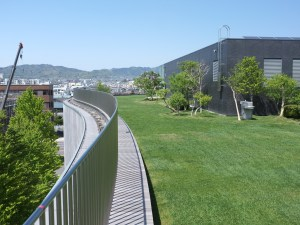 The Secret Rooftop Garden at Matsumoto Performing Arts Centre