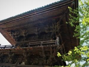 県宝 旧念来寺鐘楼