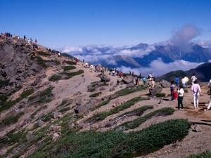 노리쿠라다케(3,026m) 등산