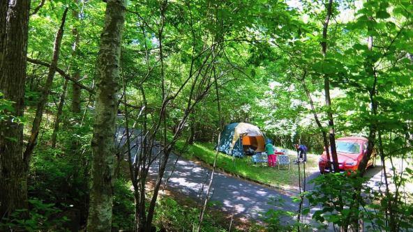 三城キャンプ場
