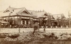 竣工直前の旧松本区裁判所庁舎
