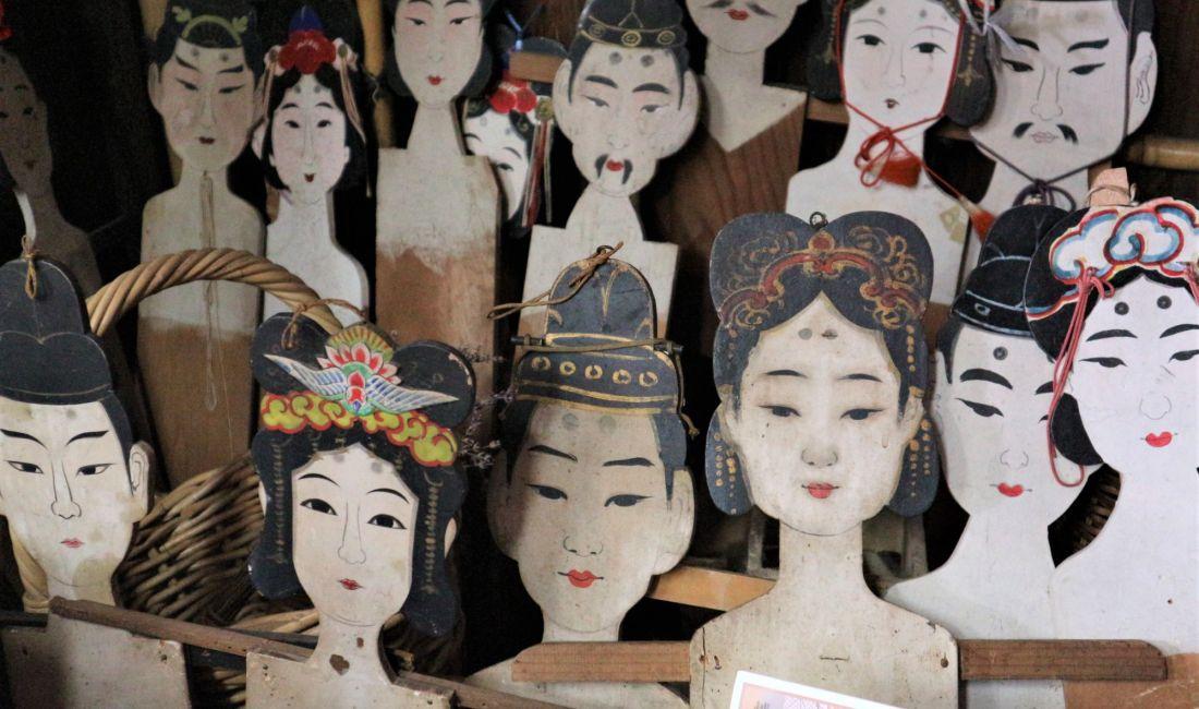 松本の伝統押絵/七夕人形「ベラミ人形店 みむら」