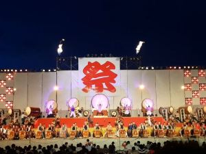 Taiko Festival in Matsumoto's Neighbor City, Okaya