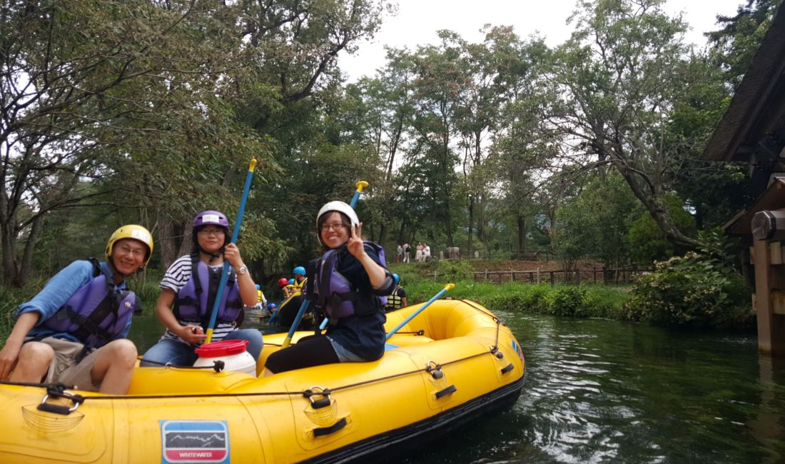 Rafting Just 30 Minutes from the Heart of Matsumoto