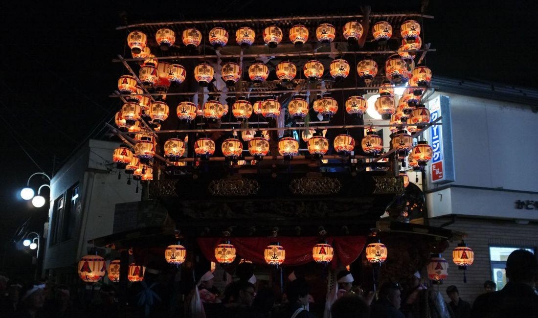 The Exciting Reitaisai Festival at Suwa Shrine in Hata