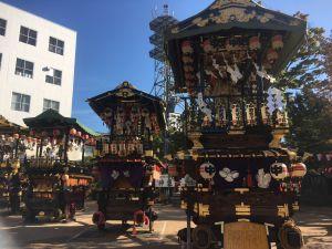 Yohashira Shrine Shinto Festival