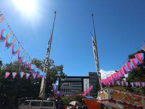 台風一過青空の下「神道祭」はじまりました!