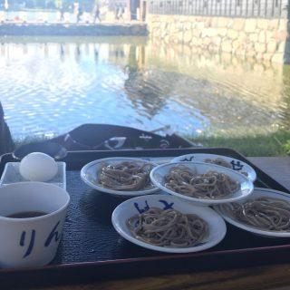 Sobafest an der Burg Matsumoto「そば祭り」